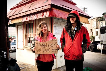 Homelessly in love by Andreas Møller